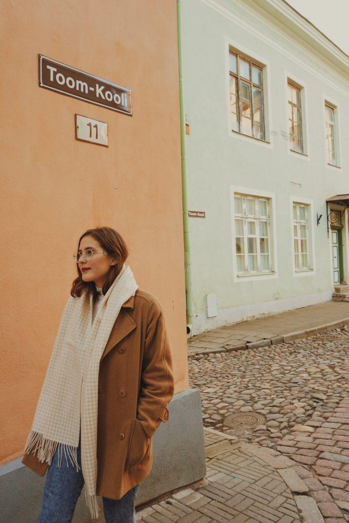 ArcticSabrina walking in Tallinn