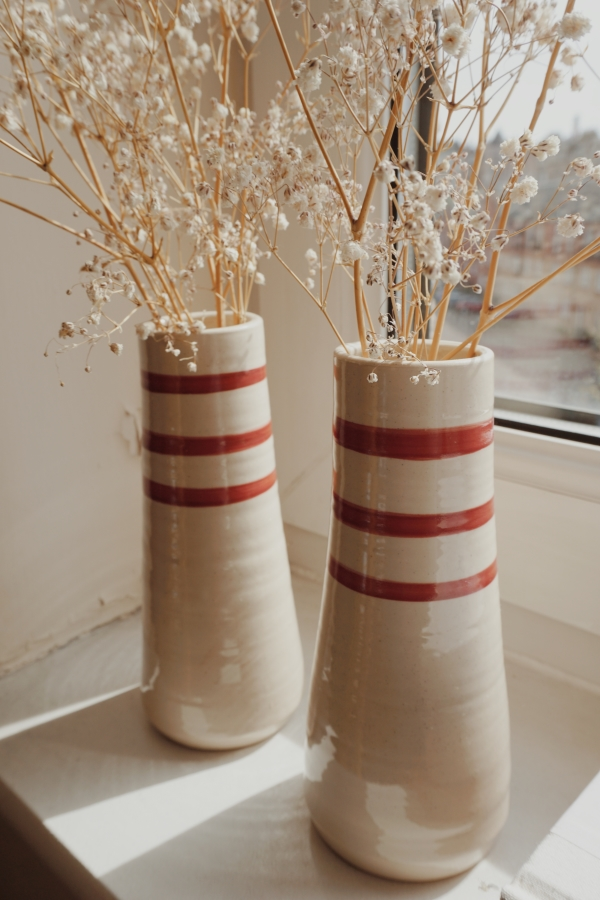 brookwood pottery ringsend vases