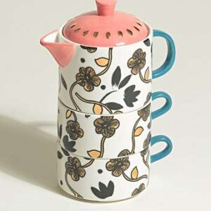 oliver bonas tea for two set
